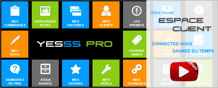 Espace professionnel YESSS PRO