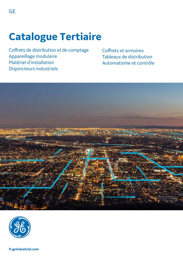 Catalogue GE gamme tertiaire