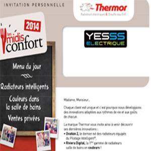 Invitation Les Midis Confort Thermor