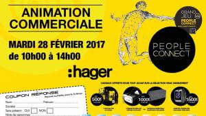 Animation commerciale HAGER