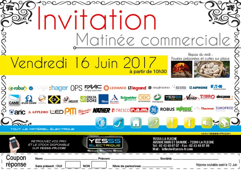 invitation matin u00e9e commerciale