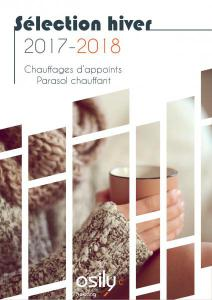 Brochure chauffages d'appoints / Parasol chauffant OSILY 2017-2018