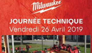 Journée technique Milwaukee