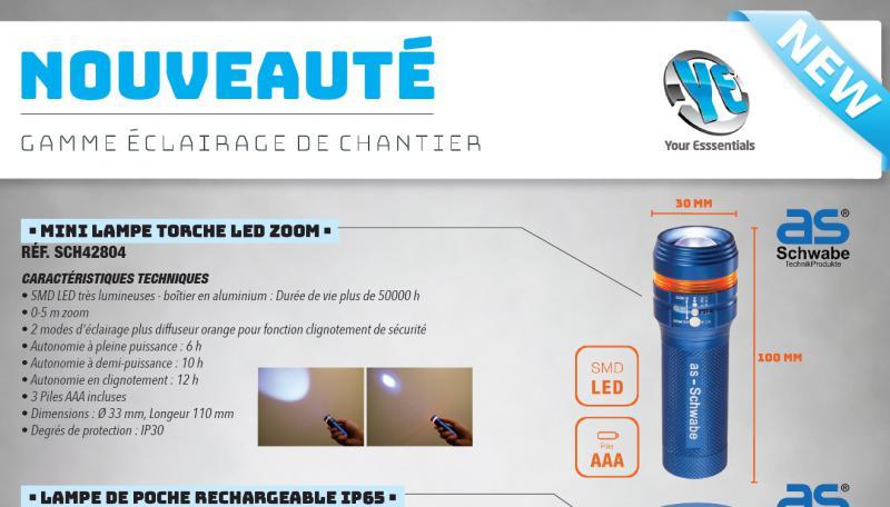 Actualité Ye De Chantier Cef Nouveaute 2019 Gamme Éclairage wOP0nk