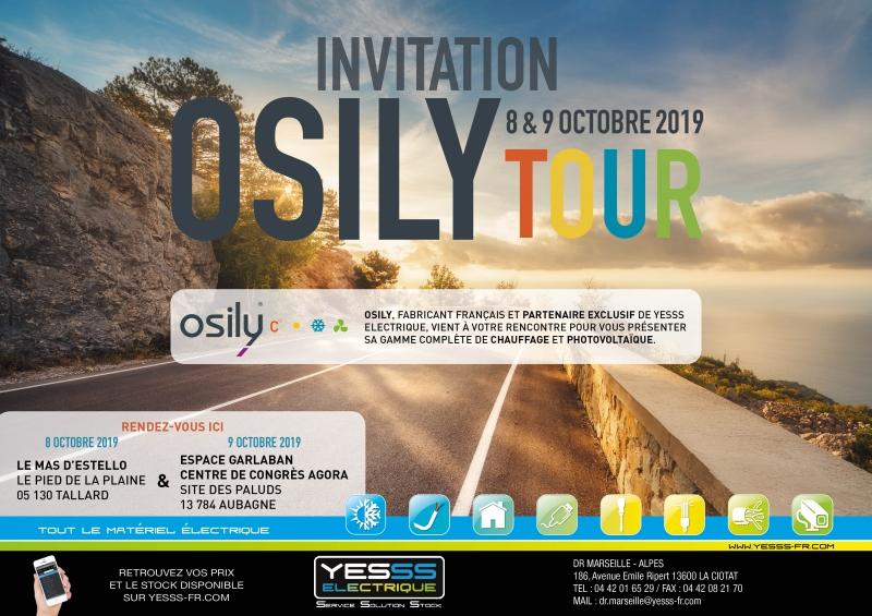 Invitation Osily Tour 9 Octobre 2019