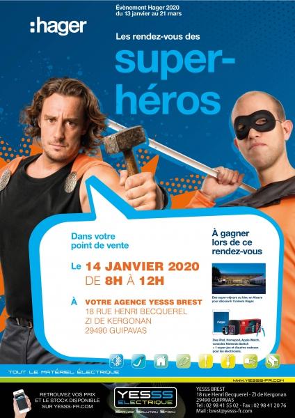 Journée Hager Super Héros Brest