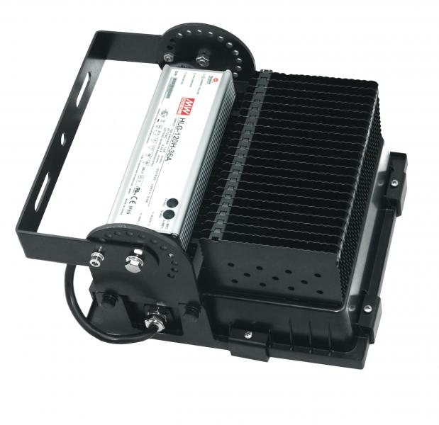 Proj twister led 200w 4000k aric ref 50119 projecteurs for Projecteur led exterieur 200w