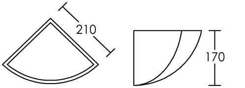 domino applique pl tre d 39 angle e27 lampe non incl aric ref 3011 d coratif appliques. Black Bedroom Furniture Sets. Home Design Ideas