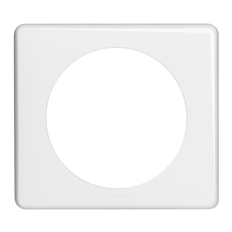 plaque c liane ip 44 1 poste blanc legrand ref 069071 composable plaques 1p appareillage. Black Bedroom Furniture Sets. Home Design Ideas