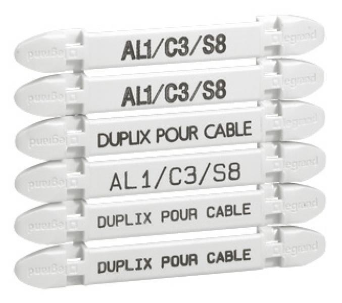 Repere de cable legrand