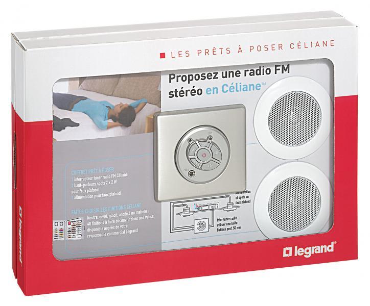 Prêt à poser Céliane : diffusion sonore avec HP spot - complet ...