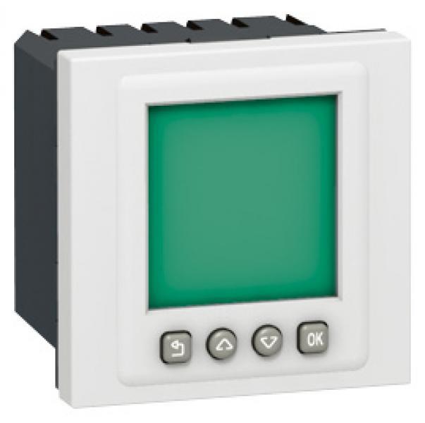 interrupteur horaire programmable programme mosaic 2 mod blanc legrand ref 078425 gestion. Black Bedroom Furniture Sets. Home Design Ideas