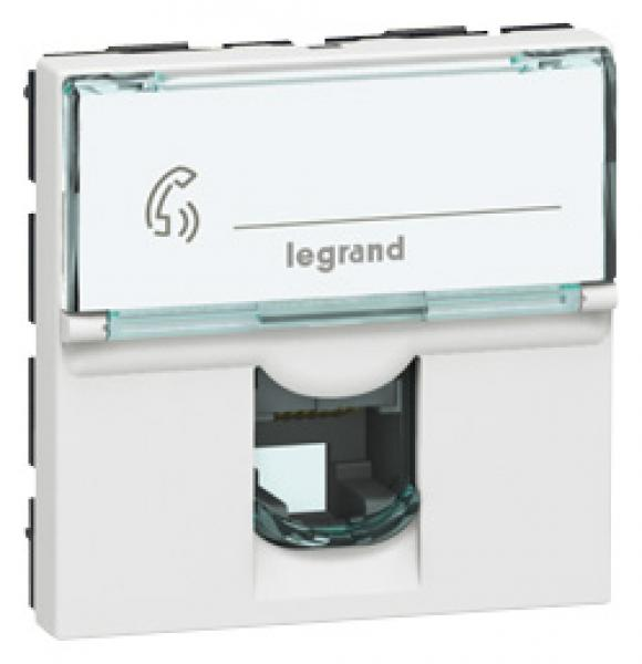 prise rj 45 programme mosaic cat 6 ftp 2 mod alu lcs legrand ref 079465. Black Bedroom Furniture Sets. Home Design Ideas