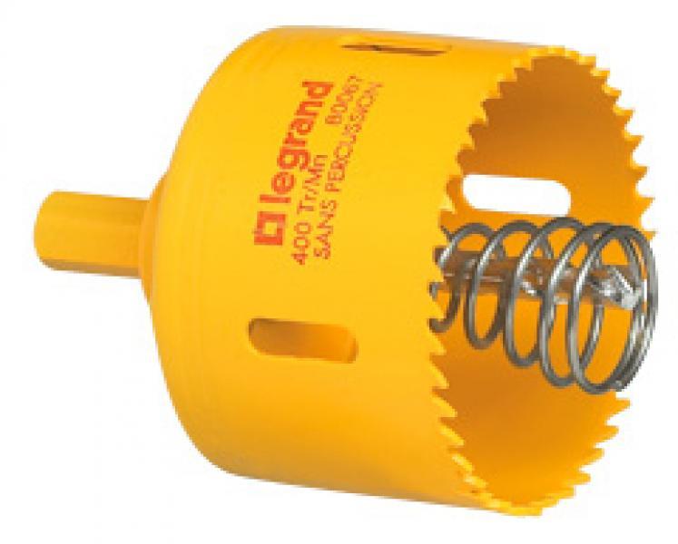 Scie cloche 67 mm pour bo te batibox cloison s che 1 4 postes legrand ref 080067 outils - Scie cloche 150 mm ...