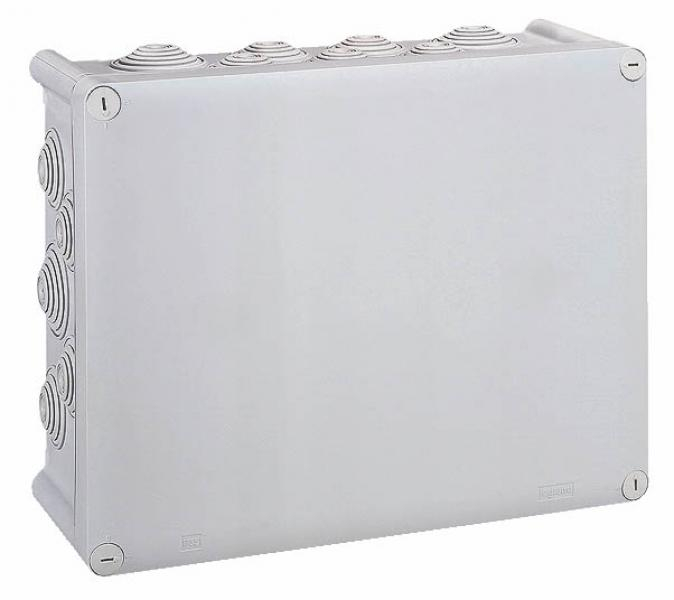 bte rect 310x240x124 tanche plexo gris embout 24 ip55 ik07 750 c legrand ref 092082. Black Bedroom Furniture Sets. Home Design Ideas
