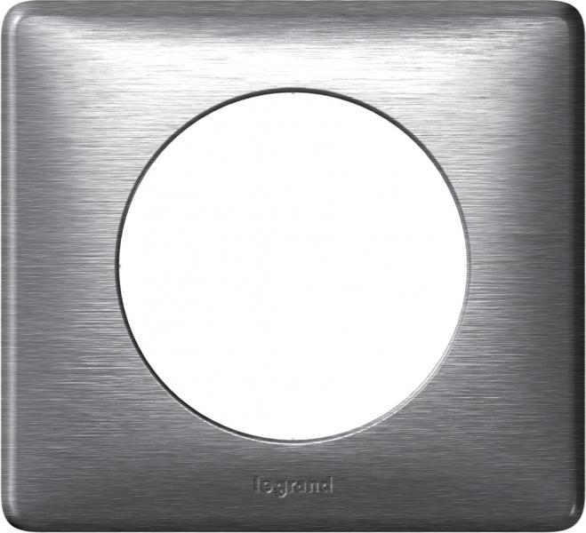 plaque 1 p celiane aluminium legrand ref 099865. Black Bedroom Furniture Sets. Home Design Ideas
