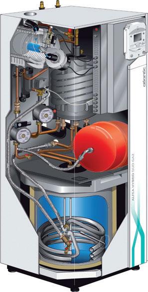 pompe a chaleur hybrid duo gaz 16 atlantic sic ref 522472. Black Bedroom Furniture Sets. Home Design Ideas