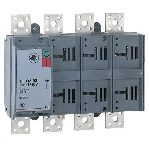 Inter sectionneur dilos 6s 1000a 4p 35 ka ge industrial solutions ref 731677 interrupteurs - Sectionneur porte fusible telemecanique ...