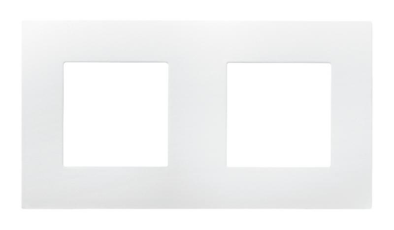 Plaque double arnould espace blanc