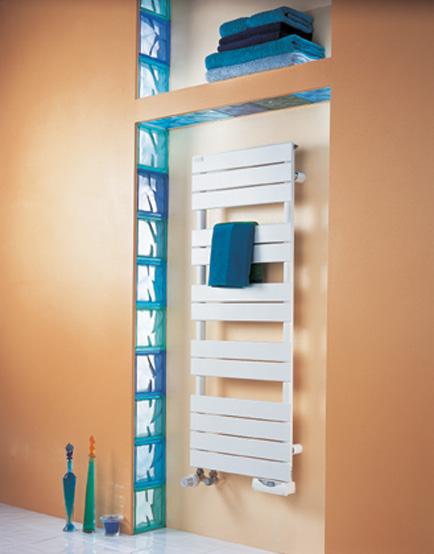 Regate mixte blanc 691 900w acova ref asx148050 salle for Seche serviette sous fenetre