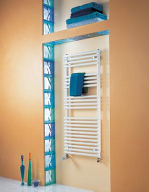 Cala ec 973w acova ref ln176050 salle de bain s che - Seche serviette faible largeur ...