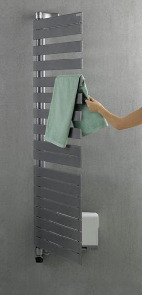 radiateur s che serviette regate twist air electrique. Black Bedroom Furniture Sets. Home Design Ideas