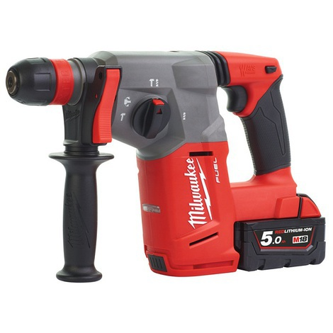 MILWAUKEE - RYOBI - AEG - M18 CHX-502X - Perforateur SDS+ FUEL Fixtec, 18V, 5,0Ah, 2,5J EPTA