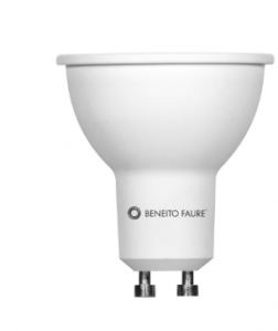BENEITO & FAURE LIGHTING SOURCE SYSTEM LED DIMMABLE 8W. GU10 4000