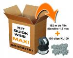 OBO BETTERMANN Kit Filin QUICK WIRE 1.5mm BKW Ø1.5 Ø1,5mmx152m