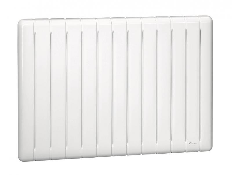 Altea plus horizontal 2000w blanc campa ref altp20hbccs for Radiateur chaleur douce a inertie
