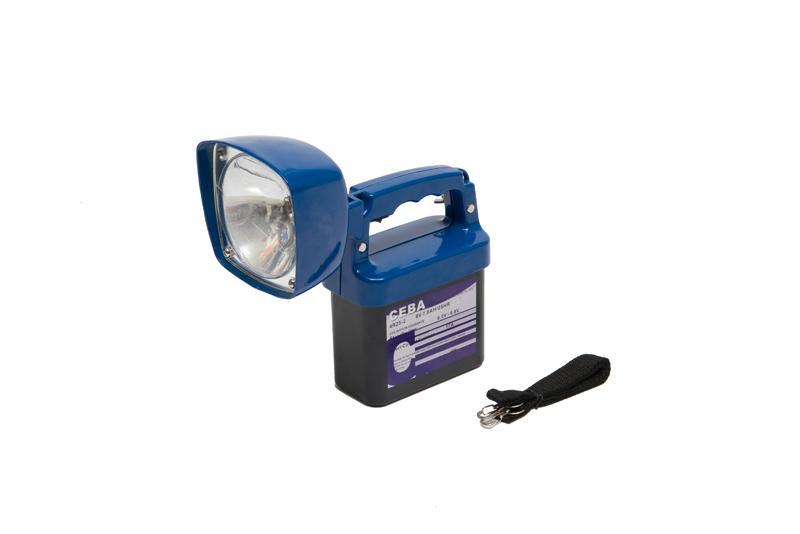 lampe a porter 6v avec batterie non rechargeable ceba ref flh6v. Black Bedroom Furniture Sets. Home Design Ideas
