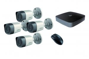 L2S KIT HD-CVI 720P 4 CAMERA(HCVR5104C+CAMER