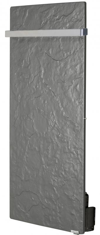 s che serviettes barre inox touch vertical 50x100cm 800w ardoise noire valderoma ref an08blt. Black Bedroom Furniture Sets. Home Design Ideas