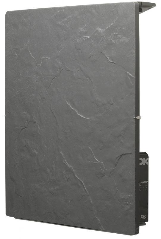radiateur touch carr 50x50cm 800w ardoise noire valderoma ref an0800t radiateur chaleur. Black Bedroom Furniture Sets. Home Design Ideas