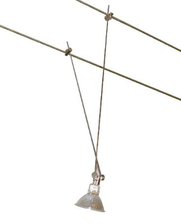 luminaire spot cable tendu. Black Bedroom Furniture Sets. Home Design Ideas