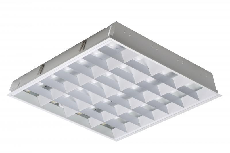 kit 4x18w hf blanc tf840 luxna lighting ref lx50630ec fonctionnel luminaires encastr s