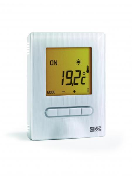 Thermostat amb retro eclaire fp aff digital pour plancher ou plafond rayonnant avec sonde de sol - Thermostat pour plancher rayonnant electrique ...
