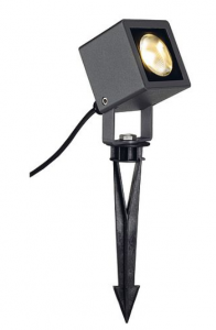SLV NAUTILUS SQUARE LED spot, carré, anthracite, 6,7W, 3000K