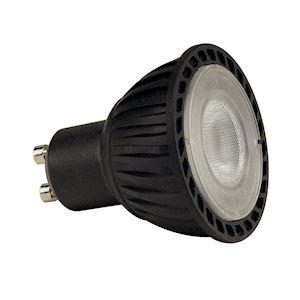 SLV LED GU10, 4W, SMD LED, 3000K, 40°, non variable