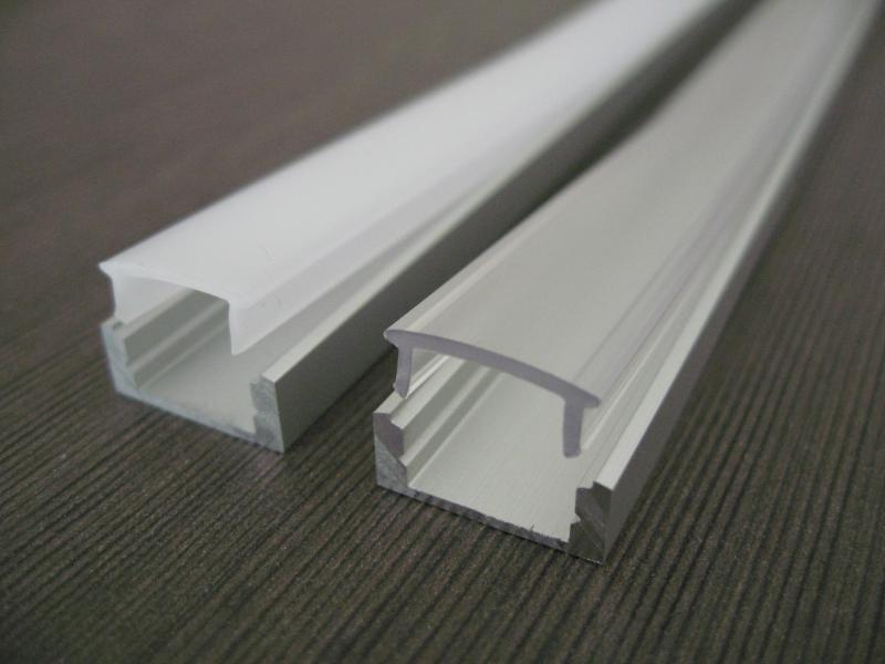 Profil alu pour ruban led 2m danlite ref dlp al sl7 k2 - Profile pour ruban led ...