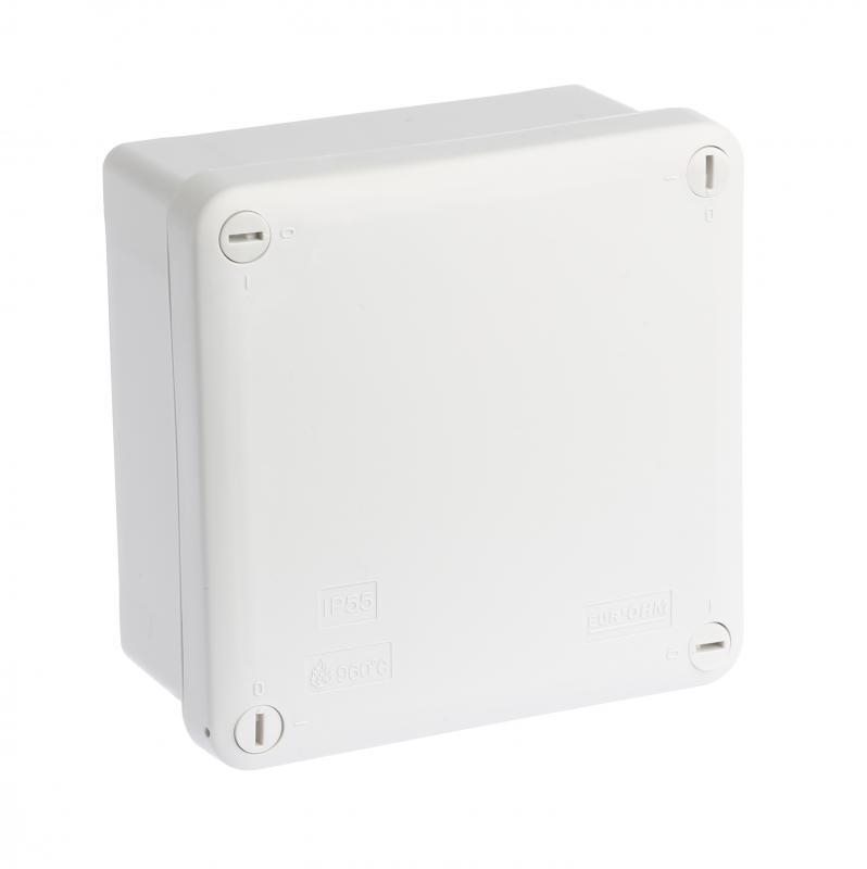 boite industrielle ip55 105x105x55 960 eurohm ref 50304 bo te tanche bo te d. Black Bedroom Furniture Sets. Home Design Ideas