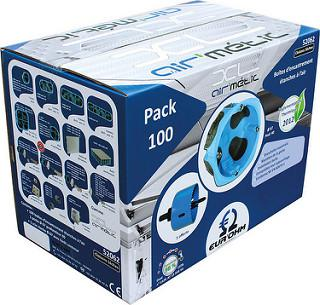 EUROHM - Pack 100 btes AIR'metic d67 p40 + 1 scie cloche