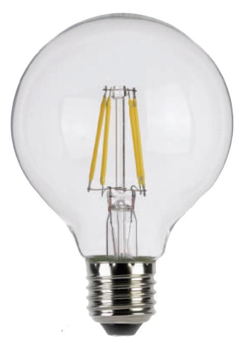 Lampe Globe Lamps Ref 7w G125 E27 Filament 806lmLuxna Led 3RAcjqS54L
