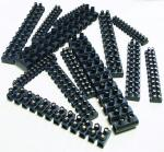 YOUR ESSSENTIALS CONSOMMABLES Barrettes 6MM2 Noir (=10)