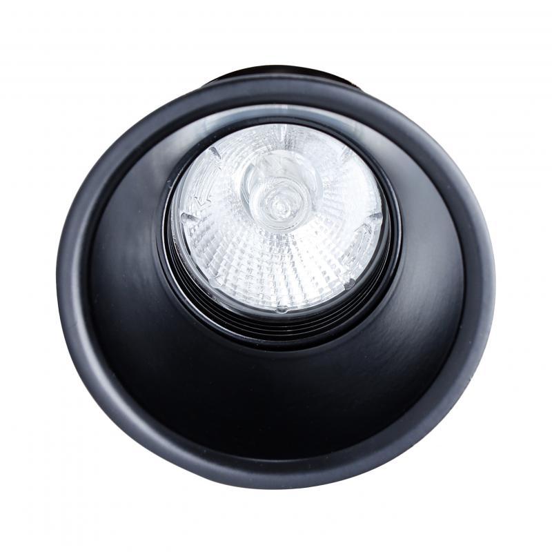 ks3012 r gu10 spot encastrable rond orientable mr16 noir indigo ref dw301205 architecturales. Black Bedroom Furniture Sets. Home Design Ideas
