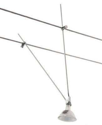 gallery of indigo big modul spot orientable pour cable v chrome with eclairage fil tendu. Black Bedroom Furniture Sets. Home Design Ideas