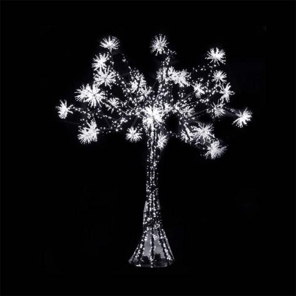 arbre led et bouquets 3d h2 50m 2928 led blanc p tillant blanc 6 branches 12 bouquets. Black Bedroom Furniture Sets. Home Design Ideas