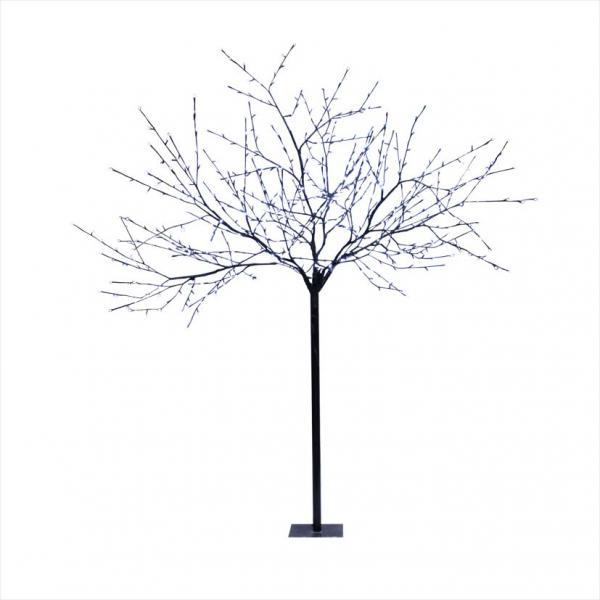 arbre led 3d h2 50m 600 led blanc branche noire 24v festilight ref 61450 b0 animation. Black Bedroom Furniture Sets. Home Design Ideas
