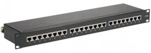 "SYSTORM PANO 19"" 24PORTS CAT6 1U EQUIPE"