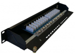 "SYSTORM PANO 19"" 16PORTS CAT6 1U EQUIPE"